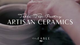 Artisan Ceramics for Table Top Poetry