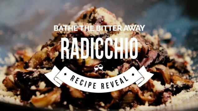 Balsamic Parmesan Radicchio
