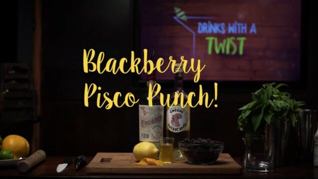 Blackberry Pisco