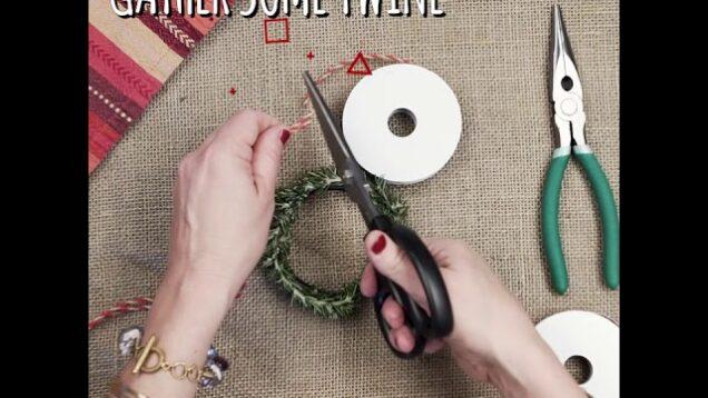 DIY Rosemary Napkin Ring