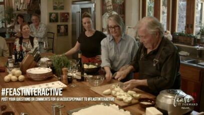 #FEAST Interactive: Live Stream at B.Wise Vineyards with Jacques Pépin