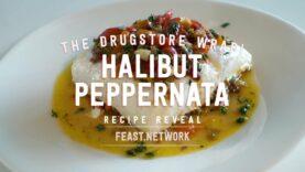 Halibut Peperonata – aka Drugstore Wrap