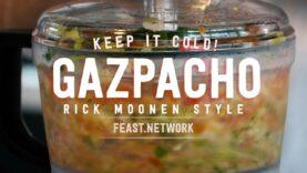 Rick Moonen's Cold Gazpacho