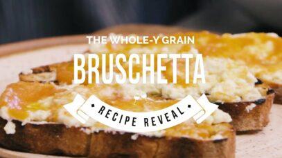 Ricotta and Persimmon Butter Bruschetta