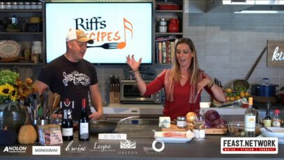 Riffs & Recipe: Katie Hamilton Shaffer & Eli Mosely