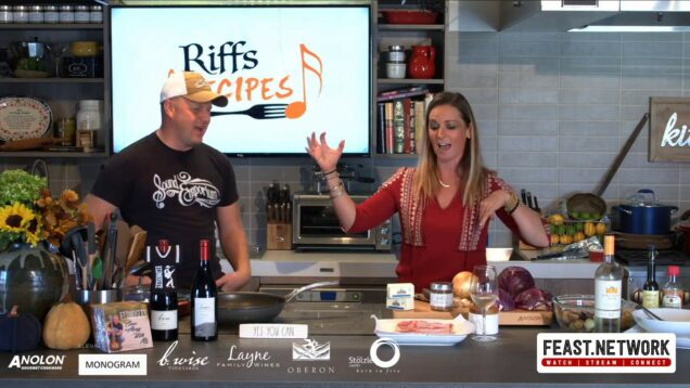 Riffs & Recipe: Katie Hamilton Shaffer & Eli Mosely