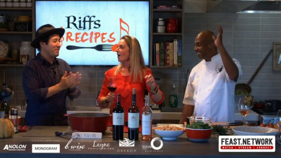 Riffs & Recipes: Chef Rome & Rob Morrow