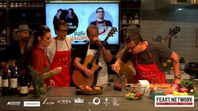 Riffs & Recipes: Chris Cosentino & The Bacon Brothers