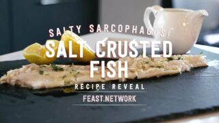 Salt Crusted Fish
