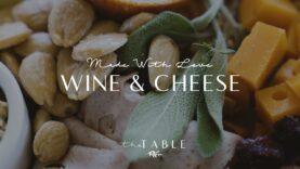 Wine Tasting Cheese Platter